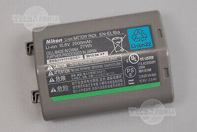 Genuine Nikon EN-EL18a Li-on Battery for Nikon D5, D4s, D4, MB-D18 Battery Pack