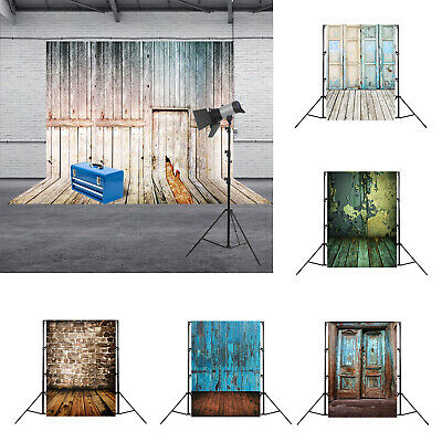 Retro Wood Planks Texture Photography Background Cloth Backdrop Photo Decor
