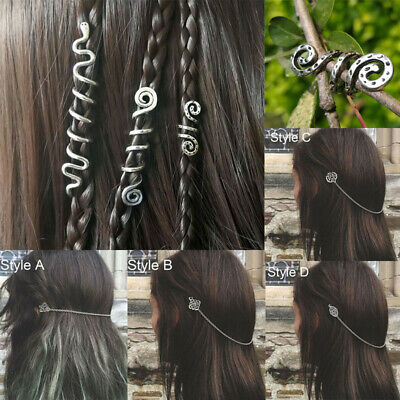 1Pcs Medieval Women Viking Hair Clips Stick Hairpins Vintage Accessories Jewelry