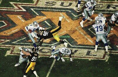 Nfl Greatest Plays Super Bowl Xxx Steelers Vs Cowboys Publicity Photo