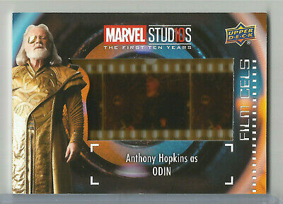 Marvel Studios First 10 Ten Years THOR Anthony Hopkins as Odin SP Film Cel FC-22