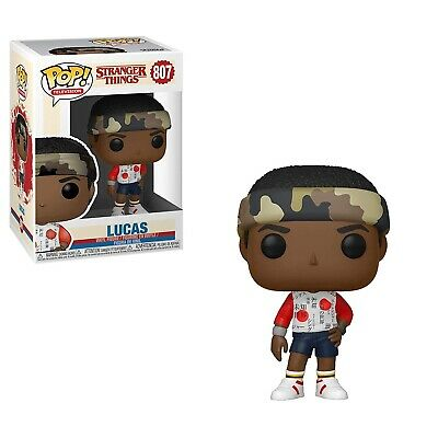Funko - POP Television: Stranger Things - Lucas Brand New In Box