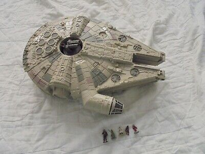 Star Wars MILLENNIUM FALCON Playset with Figures- Micro Machines by Galoob