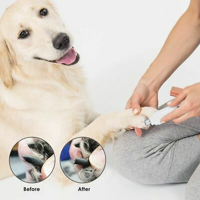 NEW Premium Electric Pet Nail Grinder Paws Grooming Trimmer Dog Cat Clipper Tool