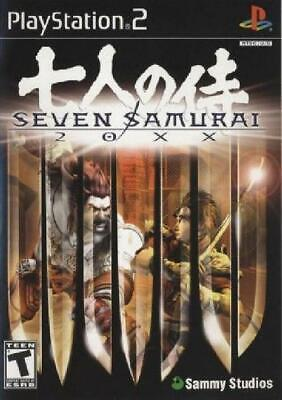 Seven Samurai 20XX Complete NM PlayStation 2 (PS2) Flat 99c Shipping per order