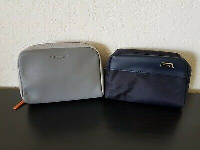 TUMI Delta Kiehl's + American Airlines COLE HAAN Toiletry TRAVEL BAG + Amenities