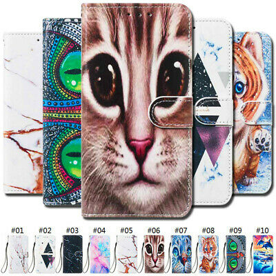 Luxury PU Leather Case Wallet Cover For Xiaomi Redmi Note 6 Pro 7 Mi A2 Lite