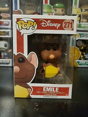 Funko Pop! Disney Pixar Ratatouille Emile #271 Vinyl Figure WITH PROTECTOR!