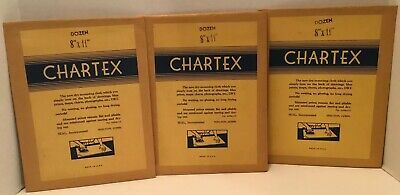 Seal Chartex Dry Mounting Cloth 3 Sealed 8X11 Packages Nos