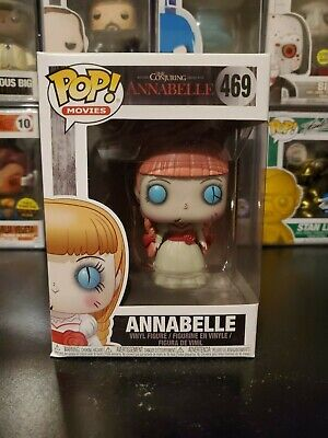 Funko Pop! Movies The Conjuring Annabelle #469 Vinyl Figure WITH PROTECTOR!