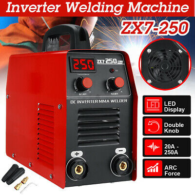 250AMP ARC Force Welder Inverter MMA ARC Portable ZX7-250 Welding Machine IGBT