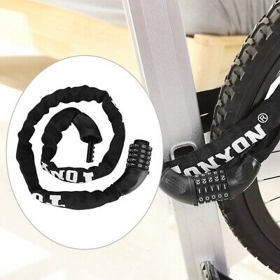 U Lock Bicycle Bike Motorcycle Cycling ScooterSecurity Steel Chain with 2 Key IJ