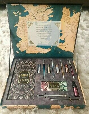 FREE GIFT!! Game Of Thrones Urban Decay Vault - 13 Pc Limited Edition Collection