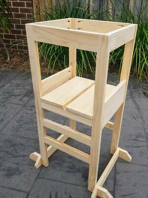 Brand new toddler learning tower with adjustable platform height
