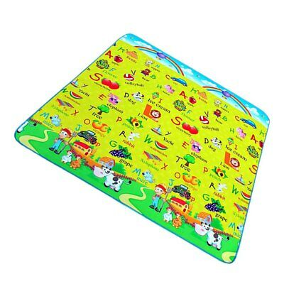 Waterproof Baby Crawling Blanket Carpet Rug Play Mat Toy Kid Activity Gym Pad US