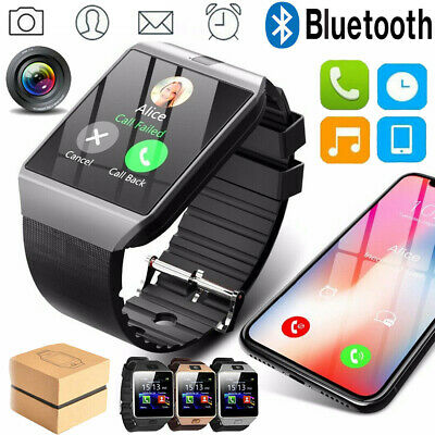DZ09 Bluetooth Smart Watch Camera GSM SIM Card for Android Samusng HTC Phone