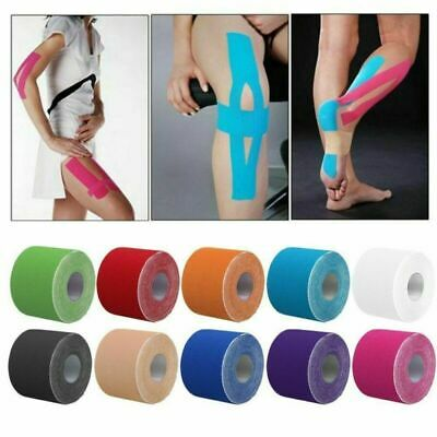 Sports Kinesiology Tape Elastic Physio Muscle Tape PRO Pain Relief Support New