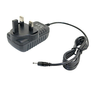 UK AC/DC Adaptor Power Supply Charger for Hannspree Hannspad SN1AT74B Tablet PC