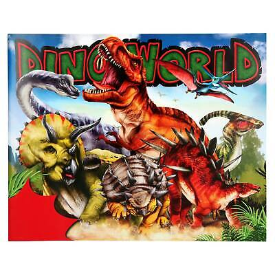 Dino Stickerfun, Malbuch mit 186 Sticker, Dinosaurier Stickerbuch - NEU