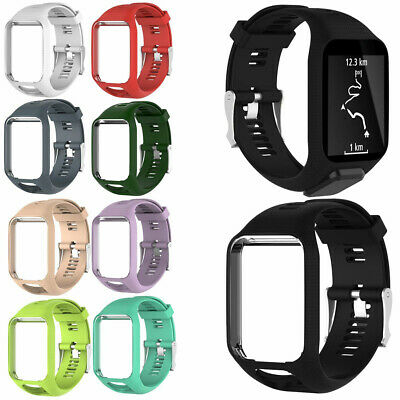 Silicon Replacement Bande Bracelet De Montres Pour TomTom Runner 2&3/Spark 3 BH