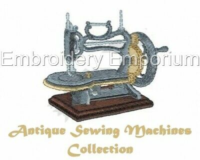 Antique Sewing Machines Collection - Machine Embroidery Designs On Cd Or Usb