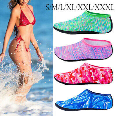 UK Women Men Water Shoes Aqua Socks Diving Socks Wetsuit Non-slip Swim Beach Sea