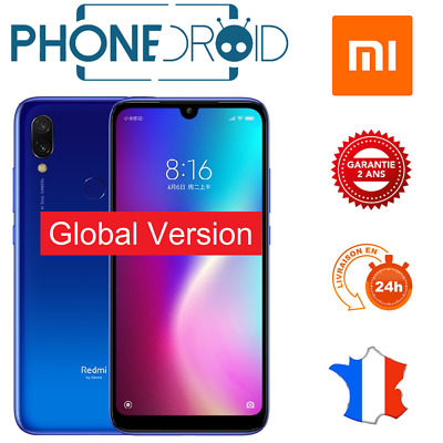 Xiaomi Redmi 7 16GB Azul Global Nuevo, Stock Fr