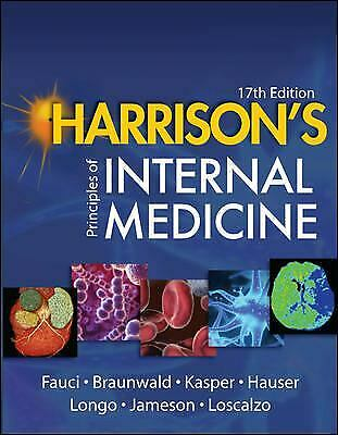 Harrison's Principles of Internal Medicine by Fauci, Anthony S.-ExLibrary