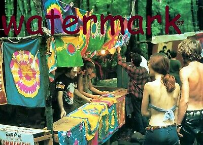 Tie Dye For Sale Woodstock 50Th Anniversary Aug 16 1969 Publicity 5 X 7 Photo