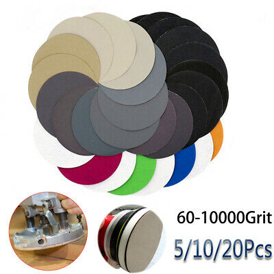 60 -10000 Grit  Silicon Carbide Sandpaper Pads Abrasive Sanding Disc With Loop_