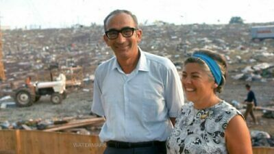 Yasgur & Wife At Woodstock 50Th Anniversary Aug 16, 1969 Publicity 5 X 7 Photo