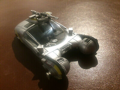 BLADE RUNNER (1982) Spinner Car Concept Collectors Silver Model SYD MEAD