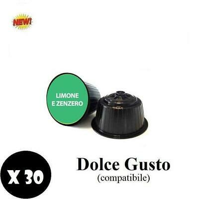 Natfood Zenzer And Lemon Capsule Compatible Dolce Gusto Nescafe' 30Pz