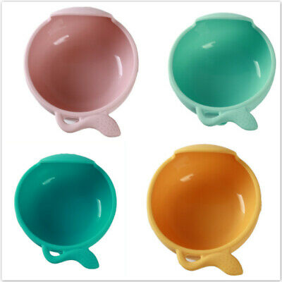 Silicone Baby Bowl Snail Shaped Anti-scalding Safety Toddlers Multicolor Bowl 6A