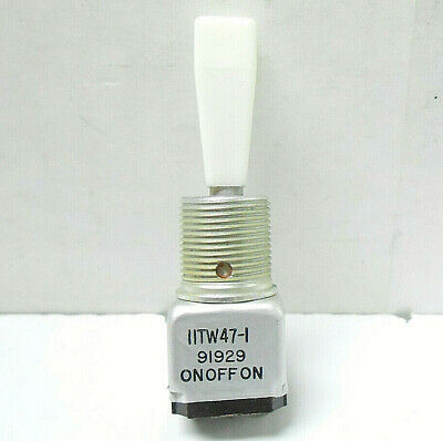 11Tw47-1 Microswitch/ Honeywell Toggle Switch, 5 Amps/ 125 Vac New Old Stock