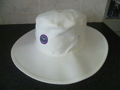 WIMBLEDON THE CHAMPIONSHIPS OFFICIAL TENNIS HAT ~ Size 57cm