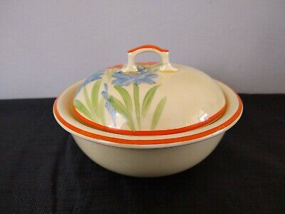Lovely Vintage Art Deco 1920'S Covered Soap Dish 3 Part Mint Condition.
