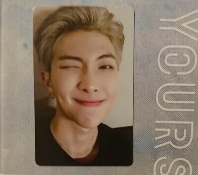 BTS RM Photocard Only WORLD TOUR LOVE YOURSELF EUROPE DVD's Enclosed Item