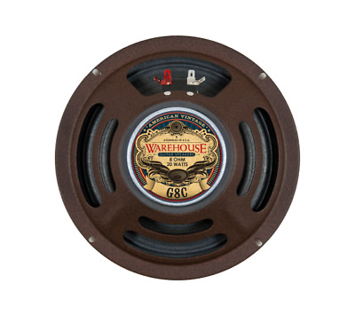 "Warehouse Guitar Speakers - AV 8"" G8C Speaker 20W / 16 Ohm"