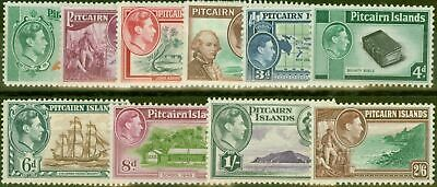Pitcairn Islands 1940 set of 10 SG1-8 Fine Very Lightly Mtd Mint