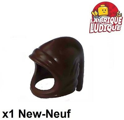 ☀️NEW Lego City Minifig Hat Classic Brown Farmers Hood Archer Cowl Peasant