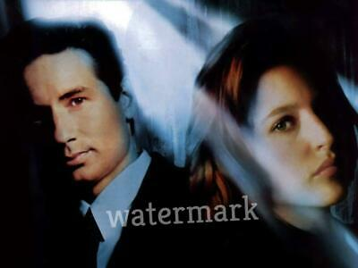 The X Files Tv Series 90'S Fox Molder And Dana Scully Dark Light Publicity Photo