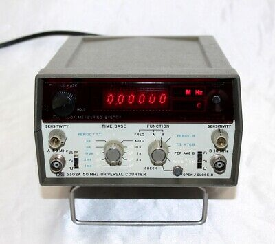 HP 5302A 50MHz Universal Counter ~ Refurbished ~ Excellent Condition!