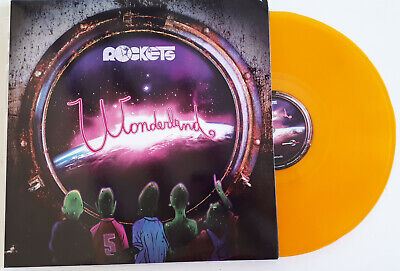 Rockets - Wonderland - Lp Vinile 33 Giri - Colorato Arancione 375 Copie Numerate