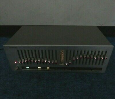Vintage Technics SH-8020 Stereo Frequency Graphic Equalizer