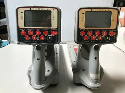 Lot Of 2 Radio Detection Pxl2 Fd1 Buried Utility Pipe Cable Locator Receiver E-A