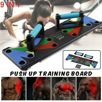 Push Up Rack Board Comprehensive Fitness Exercise Workout Push-up Stands