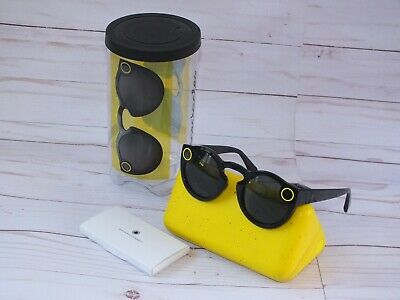 Snapchat Spectacles - Black - Version 1.0  * Missing Charging Cord *