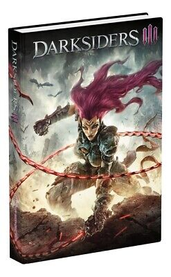 Darksiders III: official collector's edition guide by Doug Walsh (Hardback)