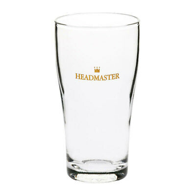 Crown Commercial Conical Headmaster Beer Glass 285mL Middy Half Pint Draught